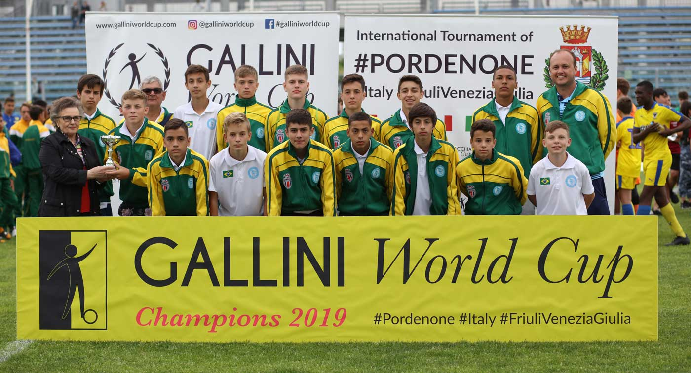 team from bazil at gallini cup in italy