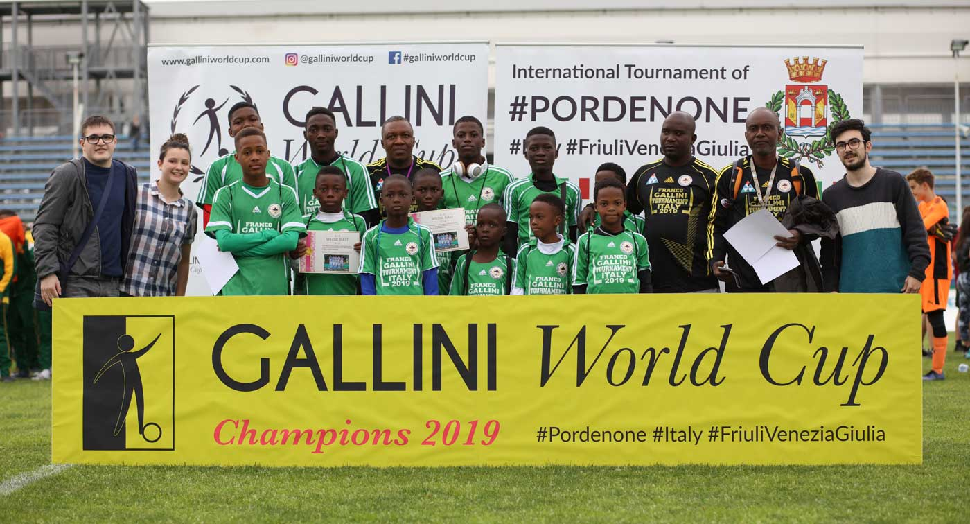 team from nigeria at gallini cup in italy