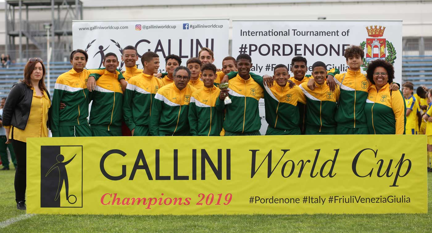 tramway fc from south africa at gallini cup in italy