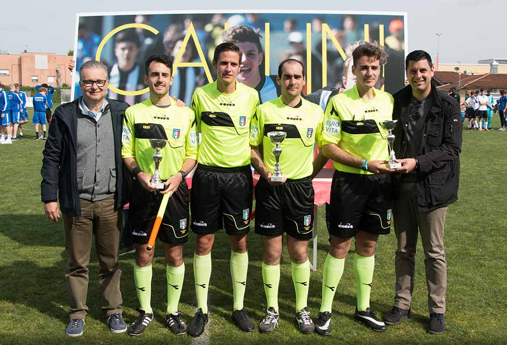 referees awarded at gallini cup 2019