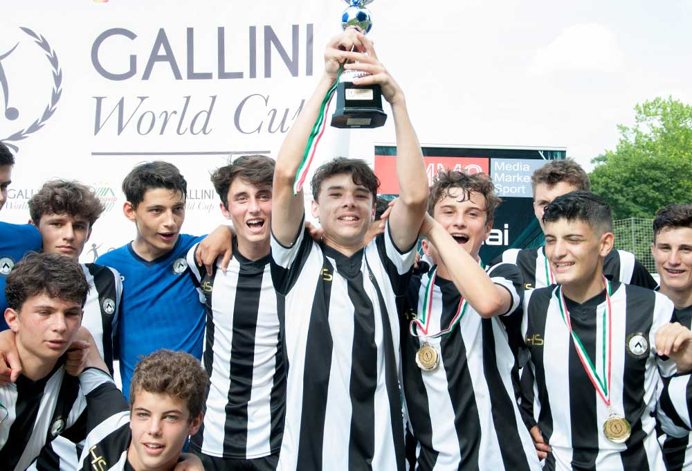 udinese winner of youth football tournament in budapest