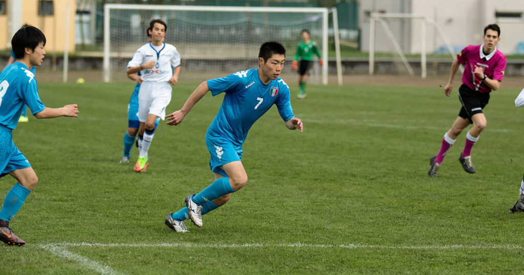 japanese team at gallini cup