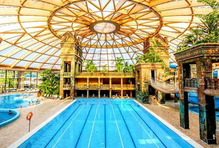 Aquaworld resort hotel of Gallini Budapest Cup