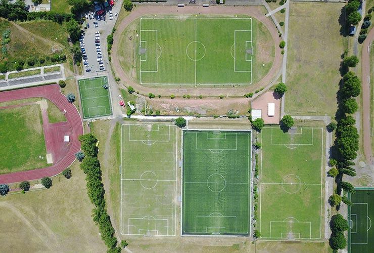 Ujpest sport center of Budapest