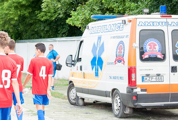 hungarian ambulance at gallini cup