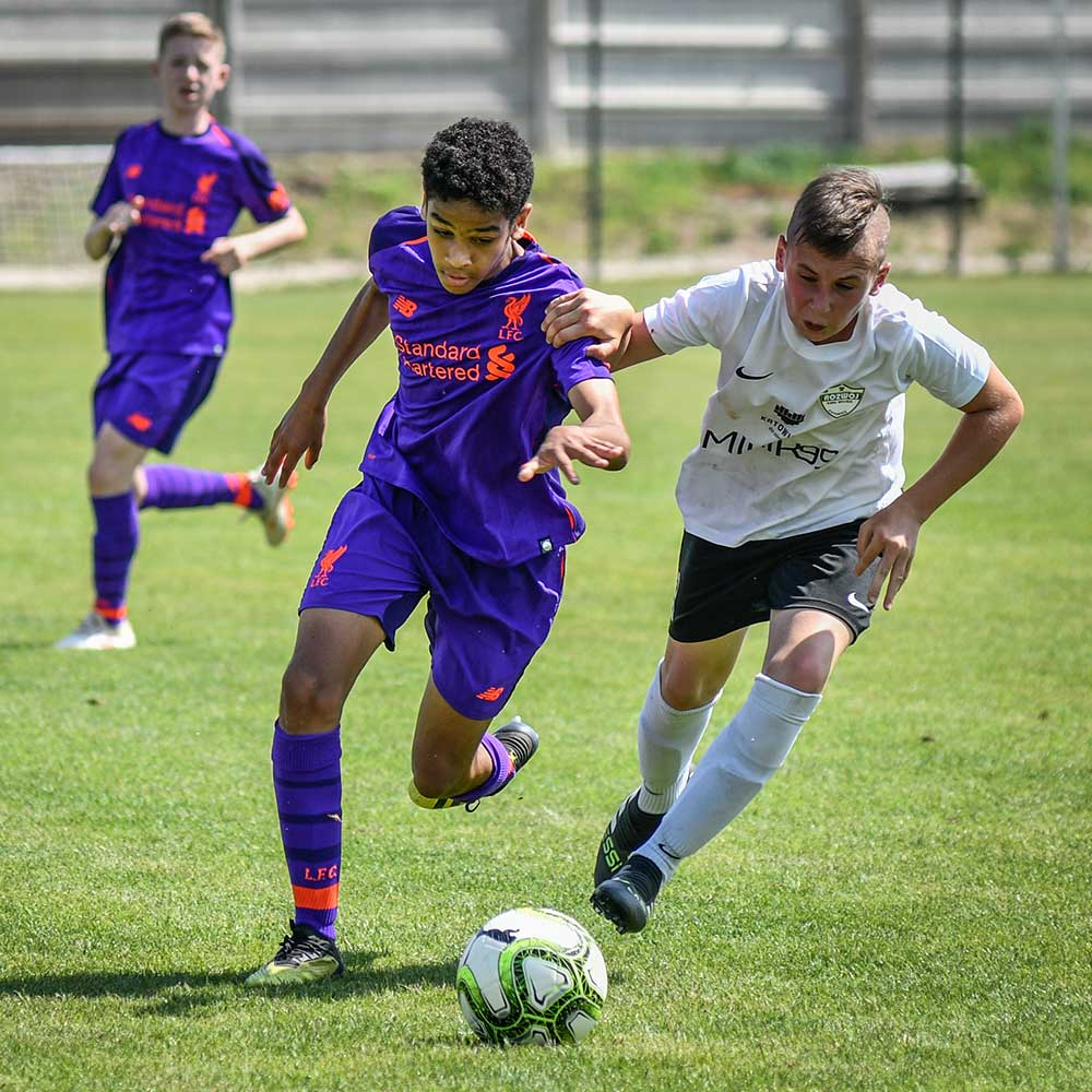 Liverpool FC at Gallini Cup in 2019
