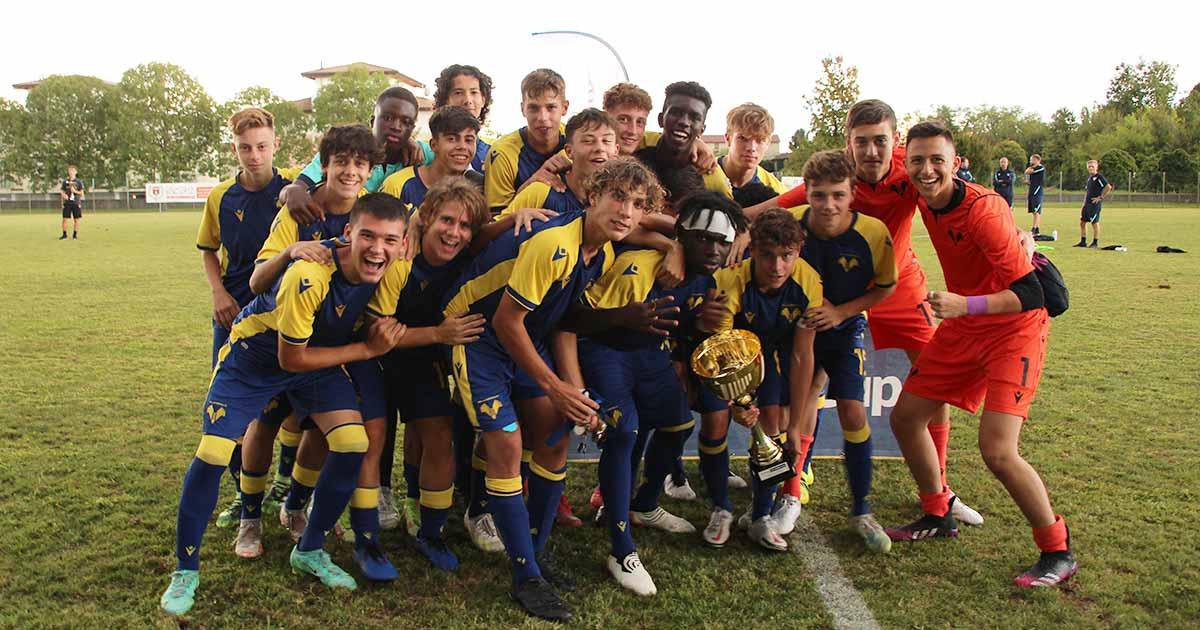 Hellas Verona U16 winner Gallini Cup 2021
