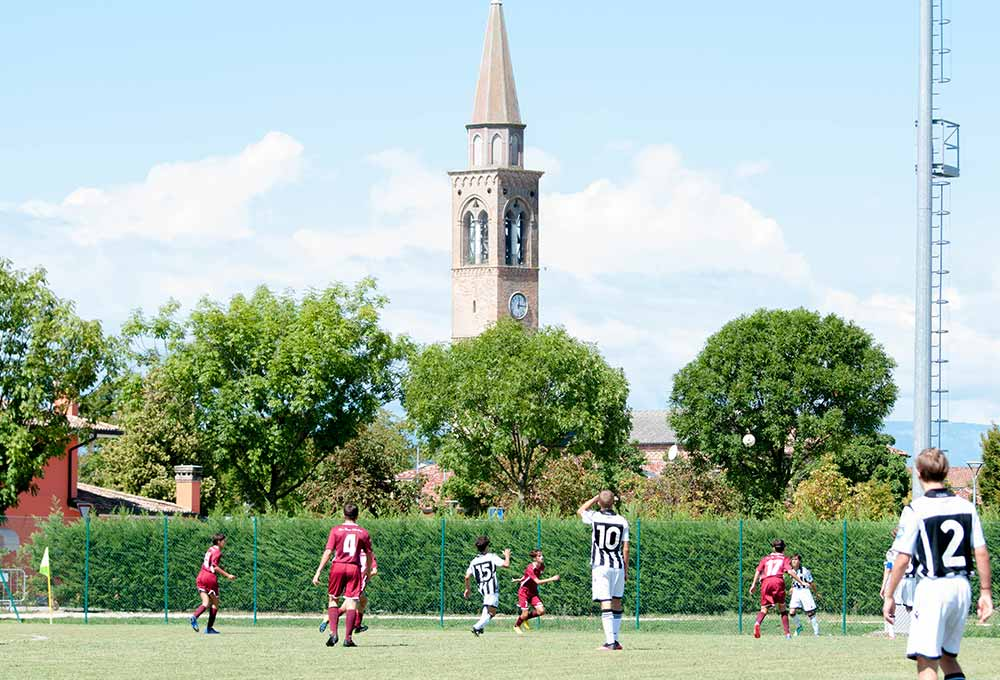 football match at gallini cup
